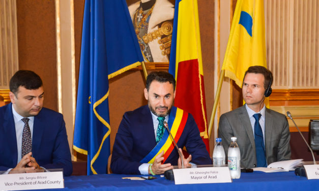 """The second successful regional conference of the EU-funded """"Study on Safe and Secure Parking Places for Trucks"""" was held on 19 June 2018 in Arad, Romania"""