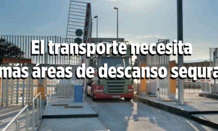 El transporte necesita más áreas de descanso sequras