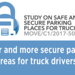 Better and more secure parking areas for truck drivers!