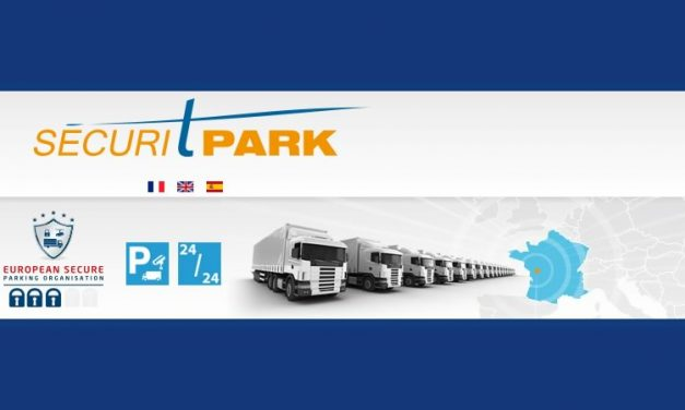 SECURITPARK the 1st Western France secure truckparking area open24 hours a day